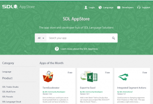 sdl open exchange appstore