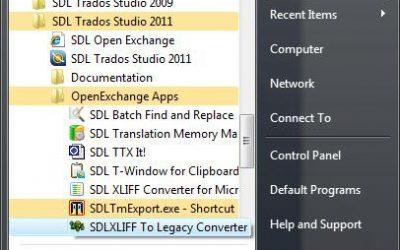 Trados 2007 failu tulkošana, izmantojot programmatūru Trados Studio 2011. Vēl vairāk iespēju