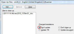 clean up trados 2007 to trados studio 2011 file types latvia latvija segment