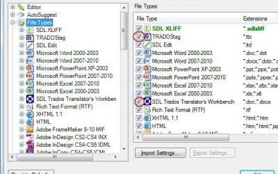 Trados 2007 tulkošana, izmantojot programmatūru Trados Studio 2011