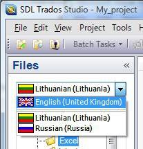 trados studio project latvia latvija